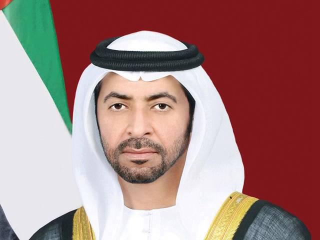 صورة أرشيفية لحمدان بن زايد ممثل الحاكم في منطقة الظفرة