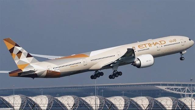 """""""الاتحاد للطيران"""" تقلص خسائرها لـ1.3 مليار دولار في 2018"""