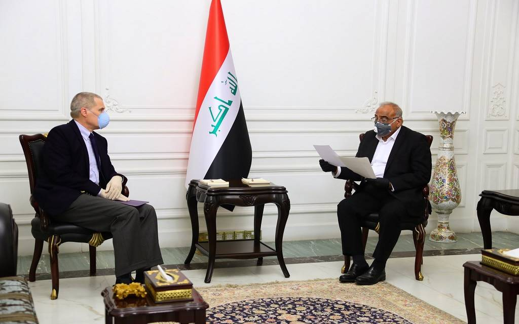 Prime Minister: Iraq welcomes the opening of a strategic dialogue with the US government 1024