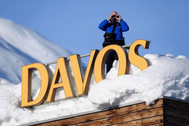 شعار مدينة دافوس إحدى المدن السويسرية
