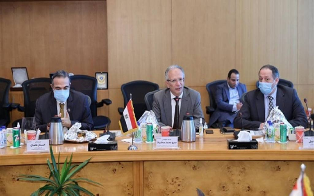 """The Iraqi """"telecommunications"""" is discussing areas of cooperation and exchange of experiences with the Egyptian """"ITIDA"""". 1024"""