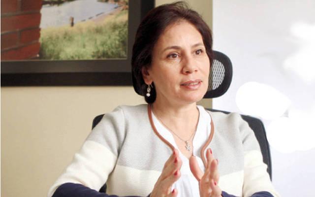 هالة زواتي وزيرة الطاقة والثروة المعدنية الأردنية