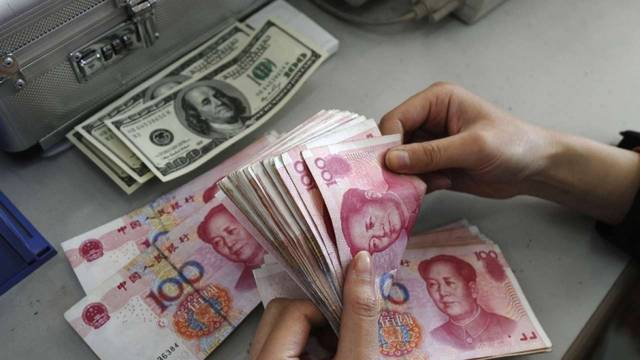 China FX reserves rise above forecasts in January