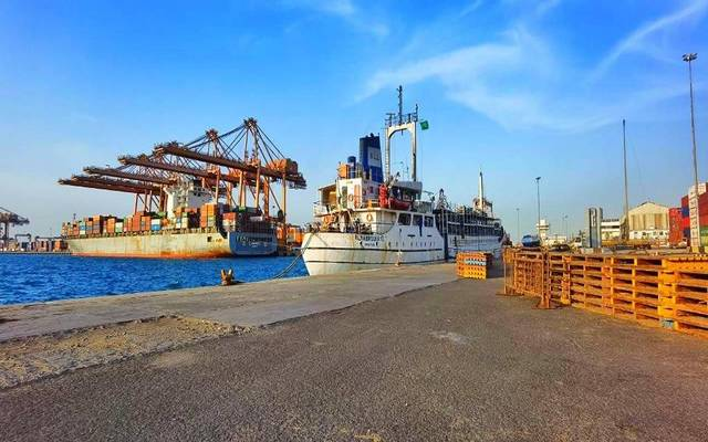 The kingdom's ports handled a total of 7.3 million containers in 2020.