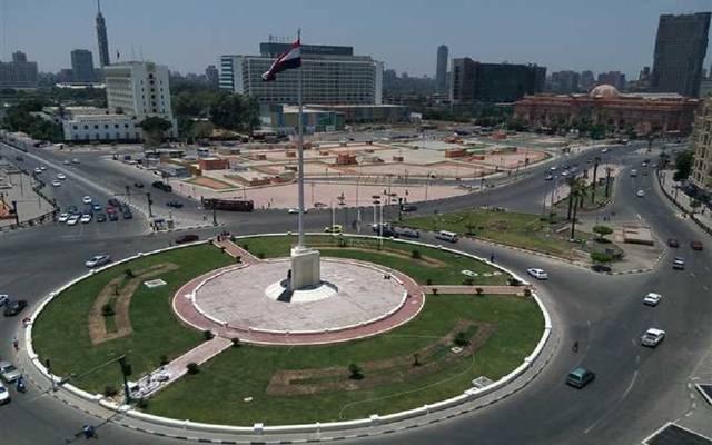 ميدان التحرير بوسط القاهرة