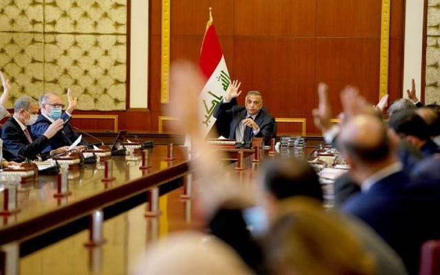 جانب من اجتماع مجلس الوزراء العراقي