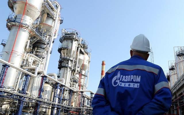 """شركة الغاز الروسية """"غازبروم"""""""