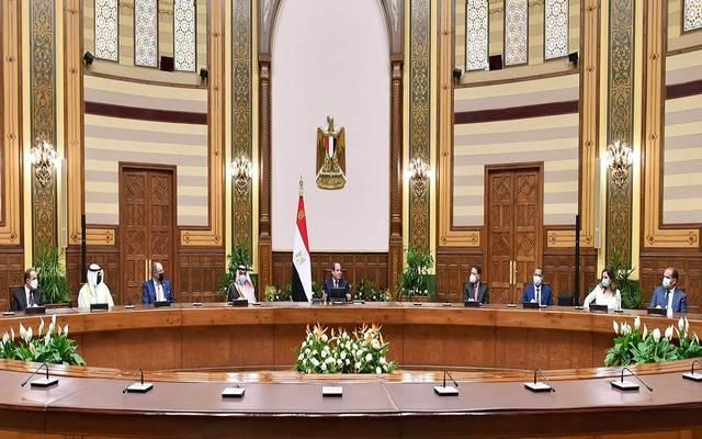 السيسي: مصر انخرطت من أجل حل قضية سد النهضة في مفاوضات مضنية لفترة توشك على تجاوز عشر سنوات