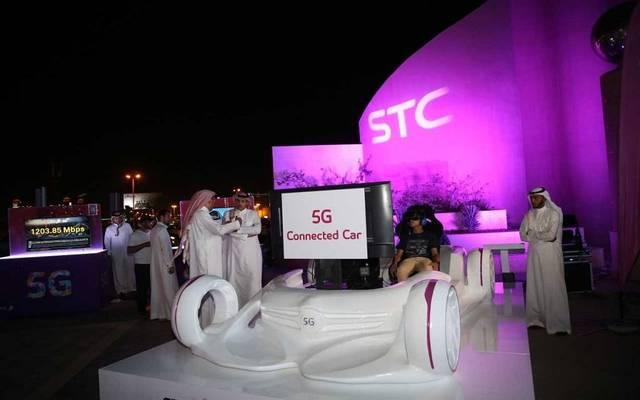 جانب من استعدادات شركة الاتصالات السعودية لتجهيز مواقع شبكة الجيل الخامس- أرشيفية