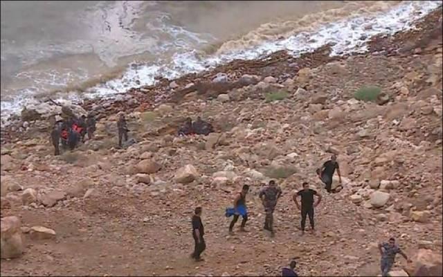 صورة أرشيفية لحادثة البحر الميت