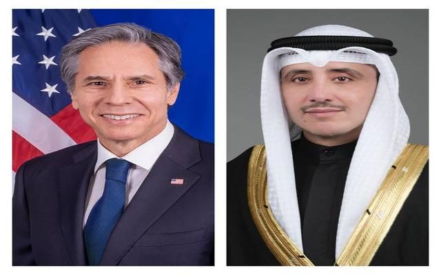 وزيرا خارجية الكويت والولايات المتحدة الأمريكية