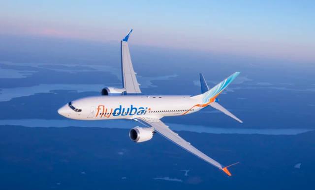 أحدطائرات شركة فلاي دبي، الصورة من المصدر