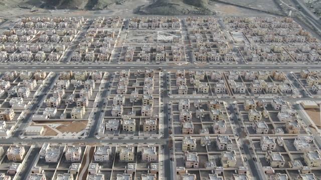 Mohamed bin Zayed City spans 2.2 square kilometres