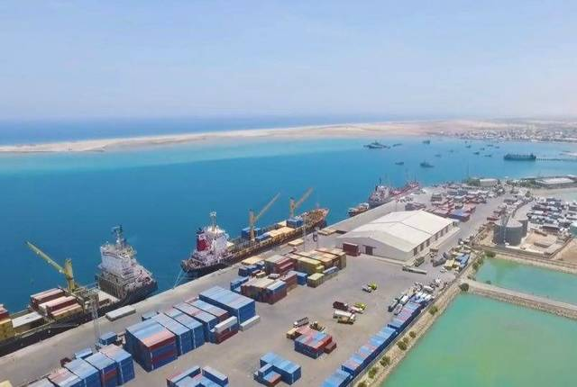 UAE's firm begins building a $90m naval base in Somalia