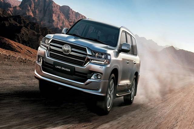 Toyota Land Cruiser features new design and intelligent technologies