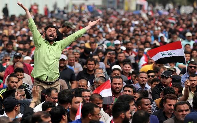 العمليات المشتركة في العراق: استشهاد 104 متظاهرين وإصابة 6107