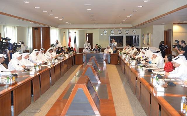 خلال استقبال غرفة تجارة وصناعة الكويت للوفد الإماراتي