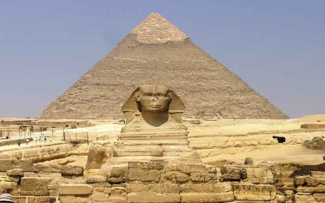 منطقة الأهرامات الأثرية في مصر- أرشيفية