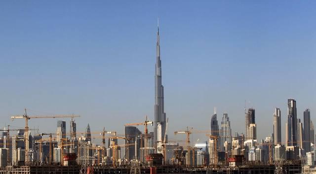 منطقة برج خليفة بإمارة دبي