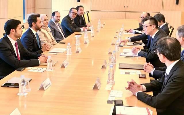 الإمارات تبحث تسهيل أعمال الشركات اليابانية داخل الدولة وبالأسواق الإقليمية