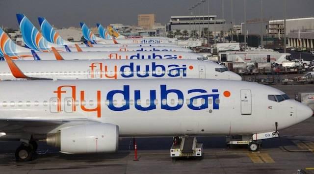 طائرات تابعة لشركة فلاي دبي، الصورة أرشيفية