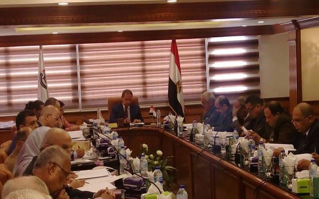 جانب من اجتماع الجمعية العامة للشركة بمقر الشركة القابضة في الإسكندرية
