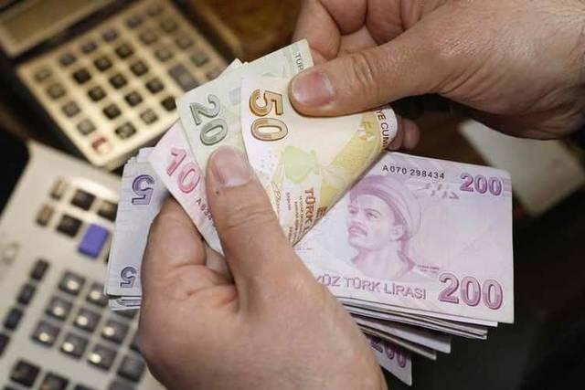 Turkish lira weakens to 6.5M low