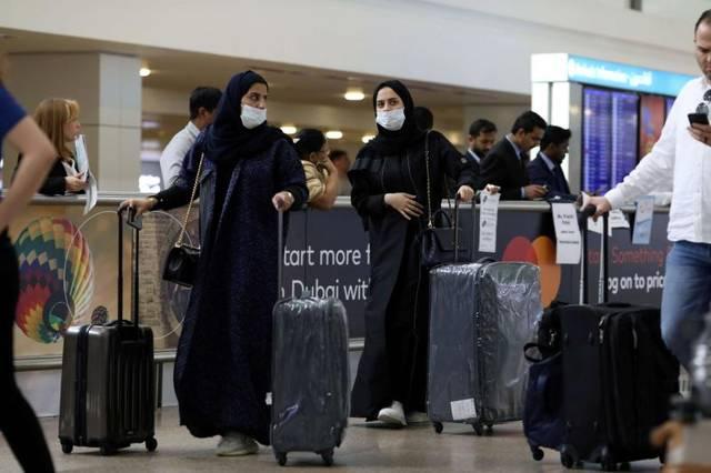 مسافرون بمطار البحرين الدولي