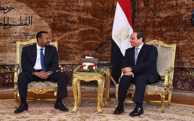 السيسي يتفق على زيادة الاستثمارات المصرية بإثيوبيا وتفعيل صندوق الاستثمار
