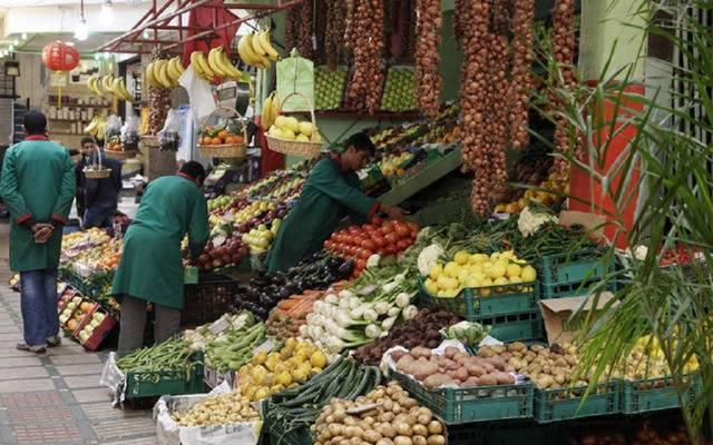 أحد الأسواق بدولة الكويت