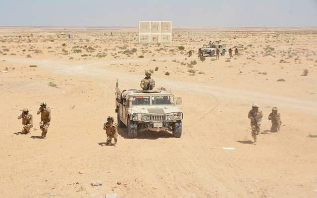 إحدى عمليات القوات المسلحة بسيناء ـ أرشيفية