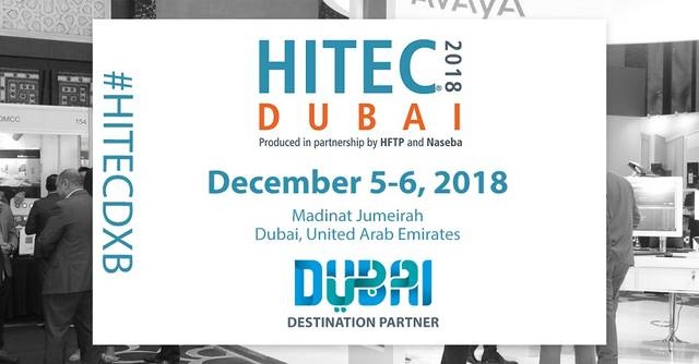 HITEC Dubai 2018 will take place on 5 December