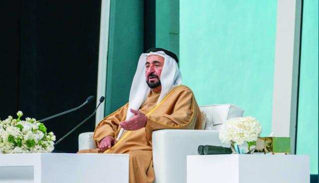 صورة لحاكم إمارة الشارقة