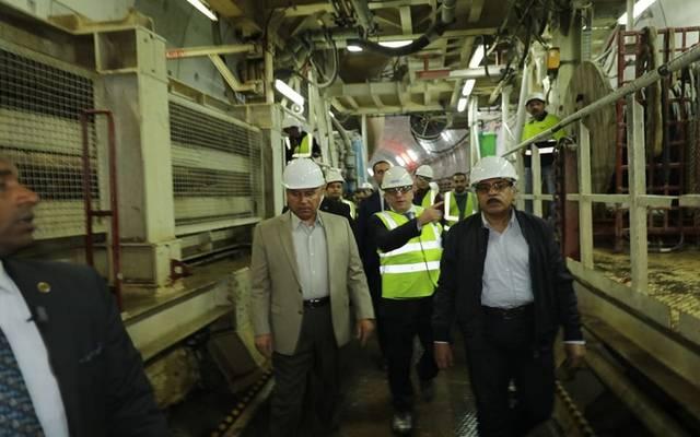 صورة من زيارة وزير النقل المفاجئة