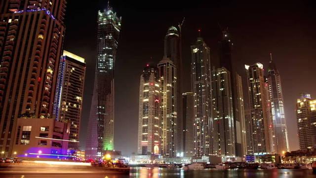 أحد المعالم السياحية بإمارة دبي- الصورة أرشيفية