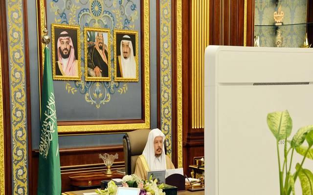 رئيس مجلس الشورى السعودي عبدالله آل الشيخ خلال الجلسة