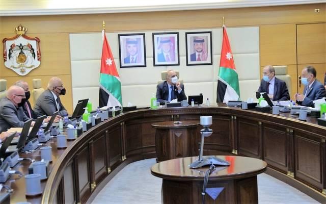 مجلس الوزراء الأردني خلال اجتماعه الأسبوعي