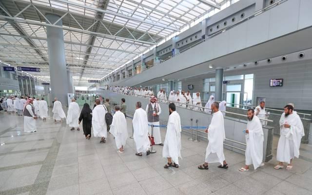 حجاج بالمطارات السعودية