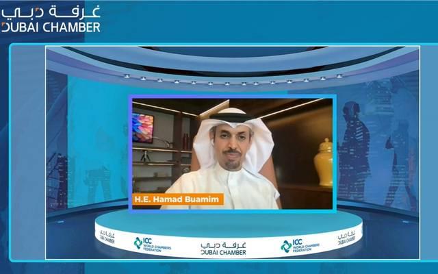 حمد بوعميم مدير عام غرفة دبي ورئيس الاتحاد العالمي لغرف التجارة
