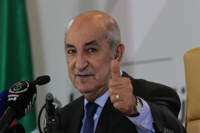 رئيس الجزائر - عبدالمجيد تبون