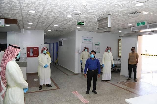 بعض العاملين في السعودية