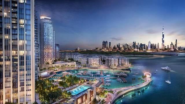 أحد المشروعات العقارية بإمارة دبي ، الصورة أرشيفية
