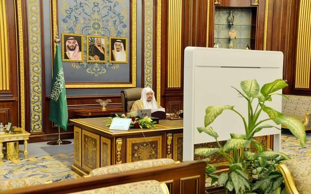 رئيس مجلس الشورى السعودي، عبدالله آل الشيخ، يترأس جلسة المجلس عبر الاتصال المرئي