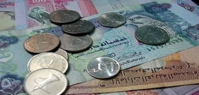 فئات متنوعة من العملات الإماراتية