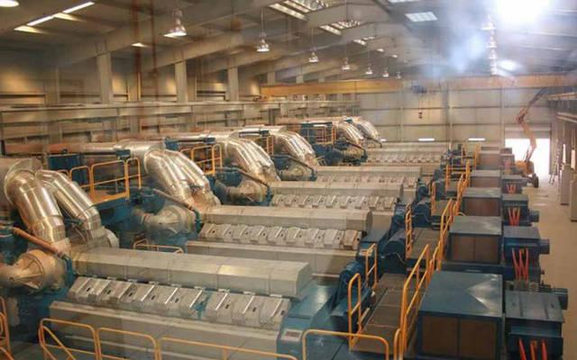 داخل أحد مصانع الأسمنت