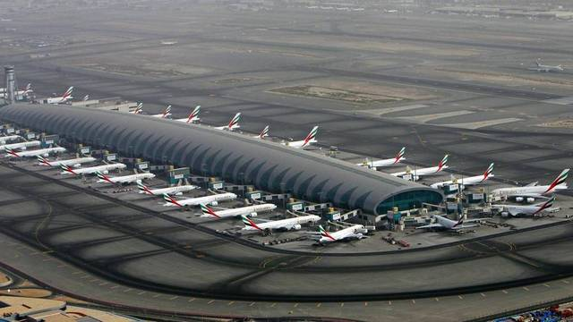 The emirate's airports handled 18.25 million passengers