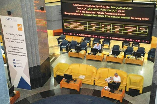 The market cap value recorded AED 472 billion