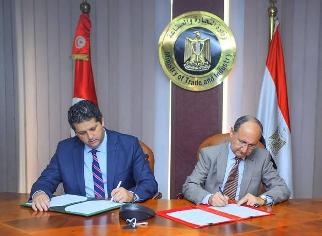 214 مليون دولار حجم التجارة بين مصر وتونس