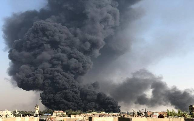 حريق خط شقير – مسطرد
