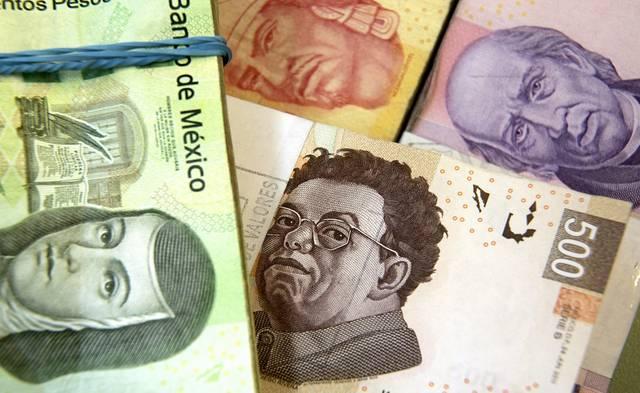 عملة المكسيك تتجه لتسجيل أفضل أداء أسبوعي بـ7 سنوات